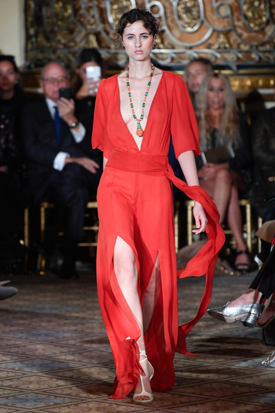 Dennis Basso Spring 2018 Ready-to-Wear - Look #37