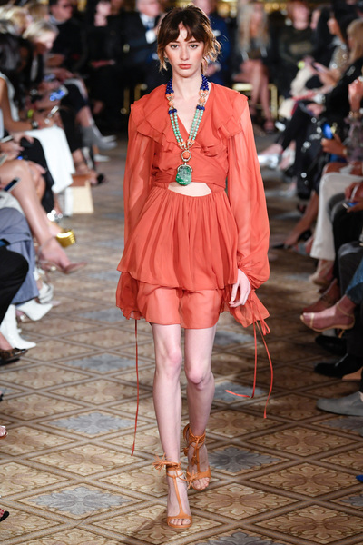 Dennis Basso Spring 2018 Ready-to-Wear - Look #40