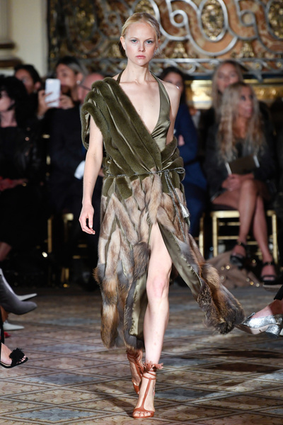 Dennis Basso Spring 2018 Ready-to-Wear - Look #48