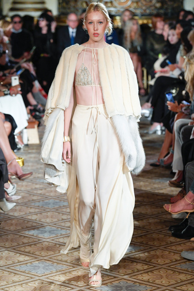Dennis Basso Spring 2018 Ready-to-Wear - Look #8