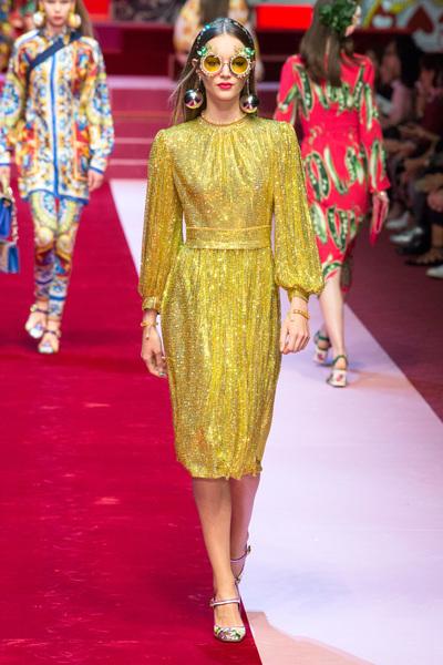 Dolce & Gabbana Spring 2018 Ready-to-Wear - Look #100