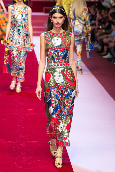 Dolce & Gabbana Spring 2018 Ready-to-Wear - Look #103