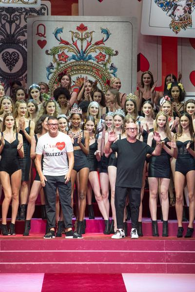 Dolce & Gabbana Spring 2018 Ready-to-Wear - Look #108