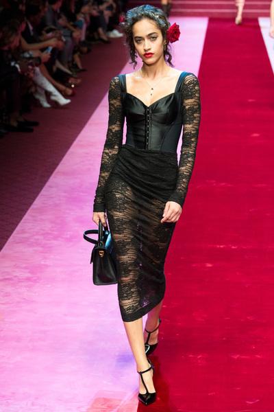 Dolce & Gabbana Spring 2018 Ready-to-Wear - Look #12
