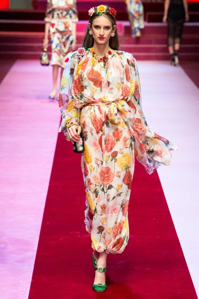 Dolce & Gabbana Spring 2018 Ready-to-Wear - Look #17