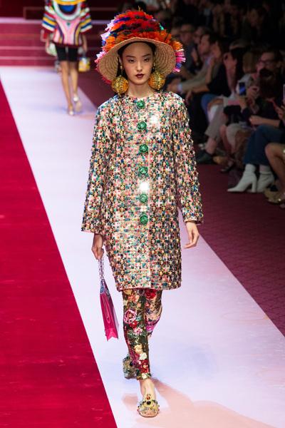 Dolce & Gabbana Spring 2018 Ready-to-Wear - Look #25