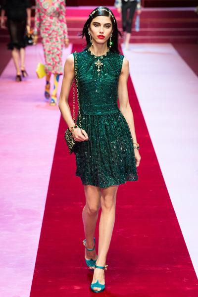 Dolce & Gabbana Spring 2018 Ready-to-Wear - Look #26
