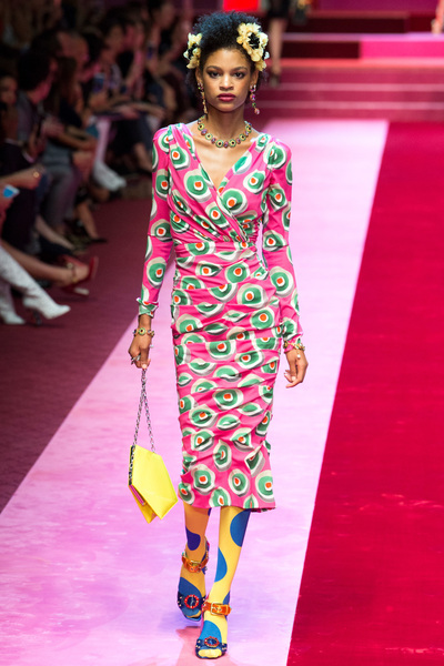 Dolce & Gabbana Spring 2018 Ready-to-Wear - Look #27