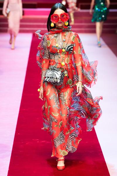 Dolce & Gabbana Spring 2018 Ready-to-Wear - Look #29