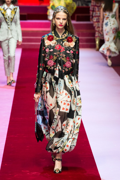 Dolce & Gabbana Spring 2018 Ready-to-Wear - Look #35