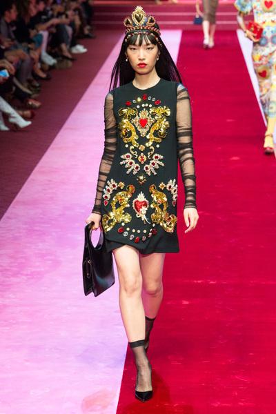 Dolce & Gabbana Spring 2018 Ready-to-Wear - Look #39