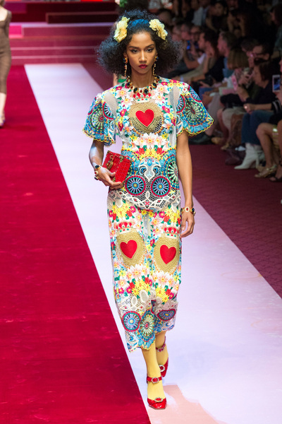 Dolce & Gabbana Spring 2018 Ready-to-Wear - Look #40