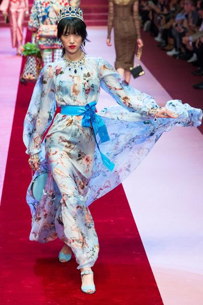 Dolce & Gabbana Spring 2018 Ready-to-Wear - Look #43