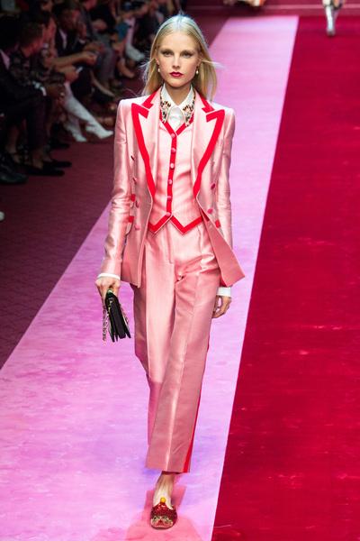 Dolce & Gabbana Spring 2018 Ready-to-Wear - Look #45
