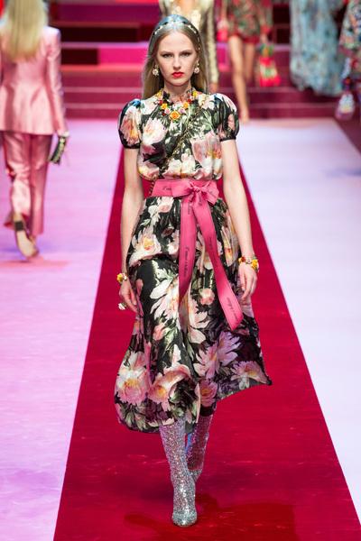 Dolce & Gabbana Spring 2018 Ready-to-Wear - Look #47