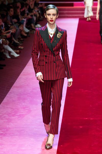 Dolce & Gabbana Spring 2018 Ready-to-Wear - Look #51
