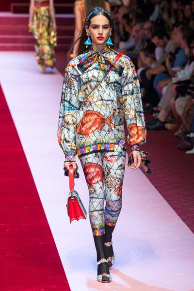 Dolce & Gabbana Spring 2018 Ready-to-Wear - Look #58