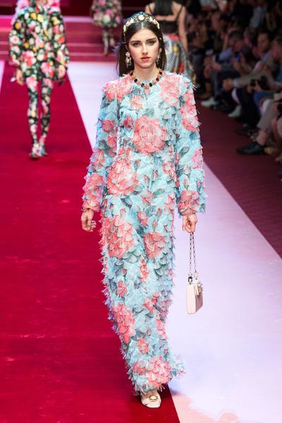Dolce & Gabbana Spring 2018 Ready-to-Wear - Look #67