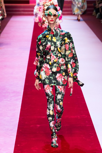 Dolce & Gabbana Spring 2018 Ready-to-Wear - Look #68