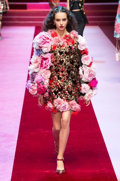 Dolce & Gabbana Spring 2018 Ready-to-Wear - Look #69