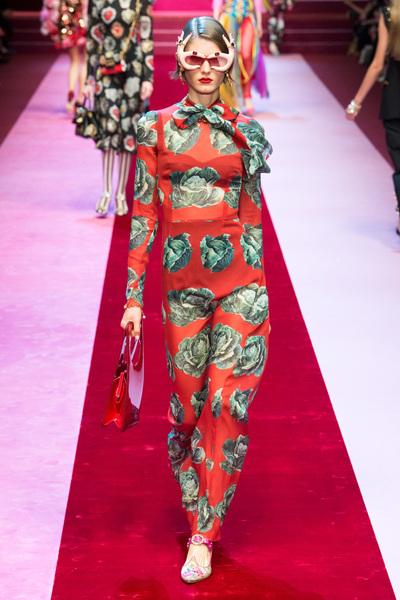 Dolce & Gabbana Spring 2018 Ready-to-Wear - Look #71