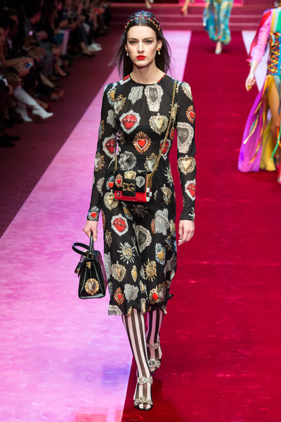 Dolce & Gabbana Spring 2018 Ready-to-Wear - Look #72