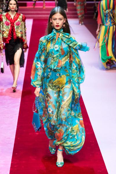 Dolce & Gabbana Spring 2018 Ready-to-Wear - Look #74