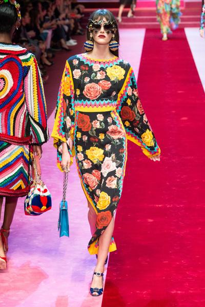 Dolce & Gabbana Spring 2018 Ready-to-Wear - Look #78