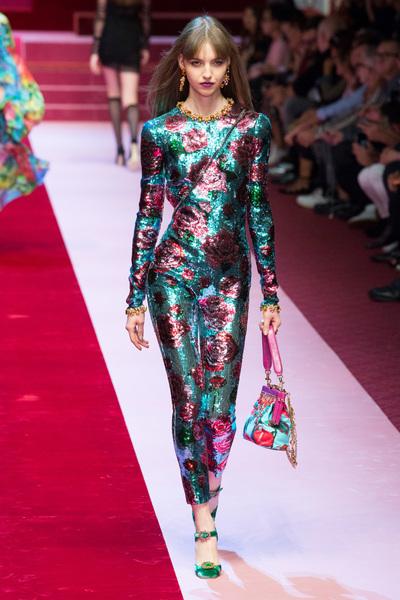 Dolce & Gabbana Spring 2018 Ready-to-Wear - Look #79