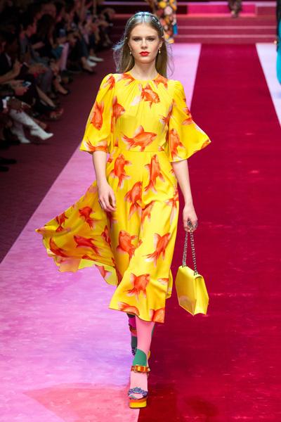 Dolce & Gabbana Spring 2018 Ready-to-Wear - Look #81