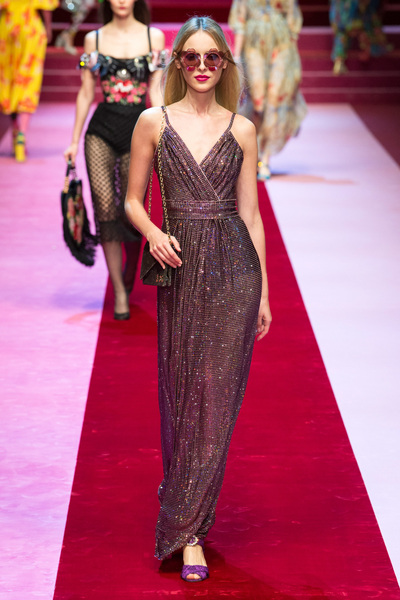 Dolce & Gabbana Spring 2018 Ready-to-Wear - Look #83