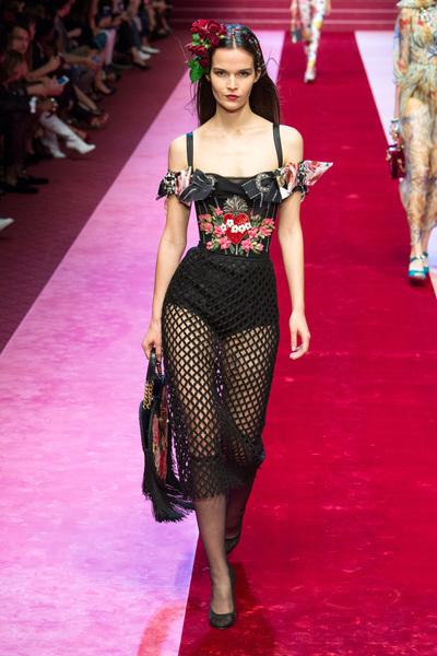 Dolce & Gabbana Spring 2018 Ready-to-Wear - Look #84
