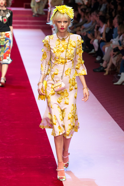 Dolce & Gabbana Spring 2018 Ready-to-Wear - Look #88