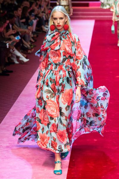 Dolce & Gabbana Spring 2018 Ready-to-Wear - Look #90