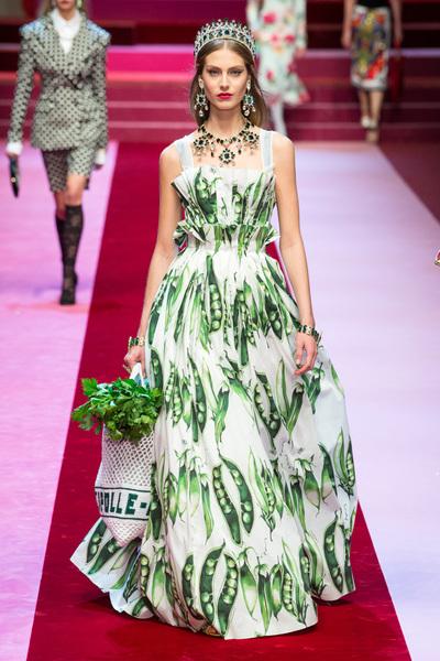 Dolce & Gabbana Spring 2018 Ready-to-Wear - Look #92