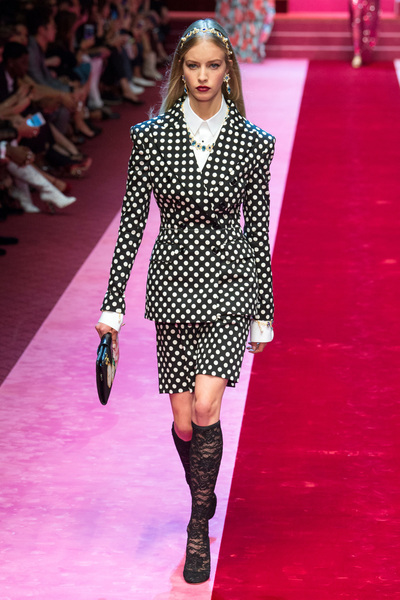 Dolce & Gabbana Spring 2018 Ready-to-Wear - Look #93