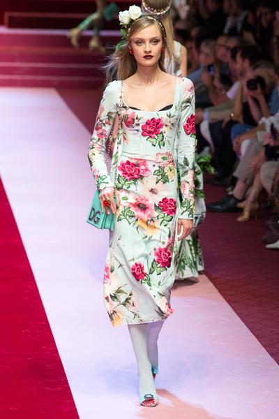Dolce & Gabbana Spring 2018 Ready-to-Wear - Look #94