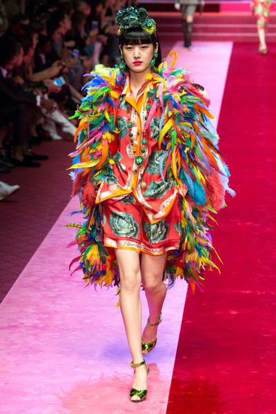 Dolce & Gabbana Spring 2018 Ready-to-Wear - Look #96