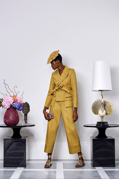 Duro Olowu Spring 2018 Ready-to-Wear - Look #1