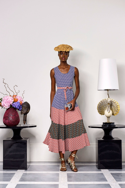Duro Olowu Spring 2018 Ready-to-Wear - Look #12