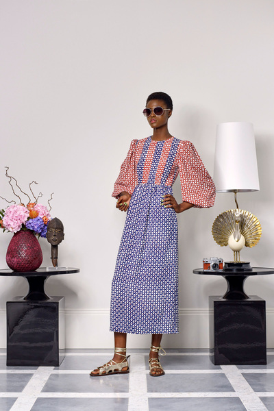 Duro Olowu Spring 2018 Ready-to-Wear - Look #14