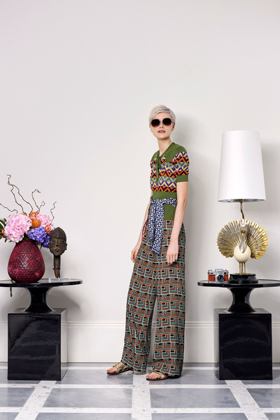 Duro Olowu Spring 2018 Ready-to-Wear - Look #15