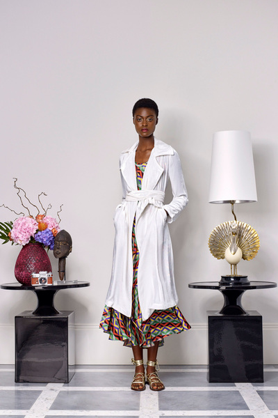 Duro Olowu Spring 2018 Ready-to-Wear - Look #16
