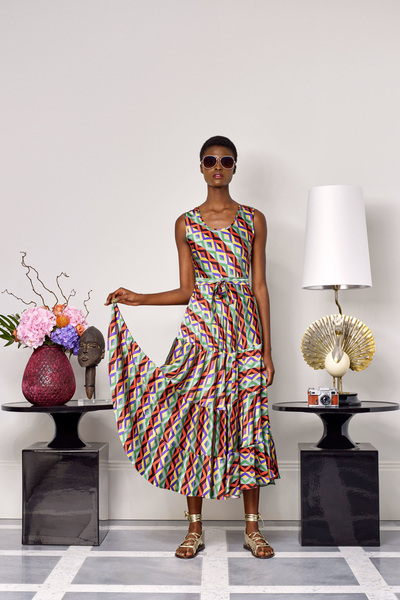 Duro Olowu Spring 2018 Ready-to-Wear - Look #18