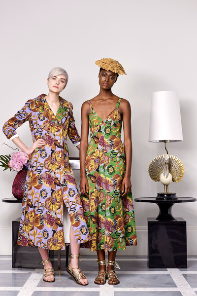 Duro Olowu Spring 2018 Ready-to-Wear - Look #19
