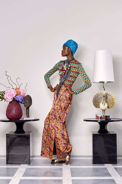 Duro Olowu Spring 2018 Ready-to-Wear - Look #21