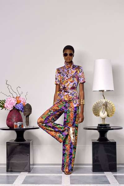 Duro Olowu Spring 2018 Ready-to-Wear - Look #22