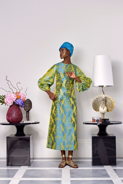 Duro Olowu Spring 2018 Ready-to-Wear - Look #24