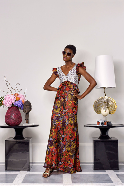 Duro Olowu Spring 2018 Ready-to-Wear - Look #26
