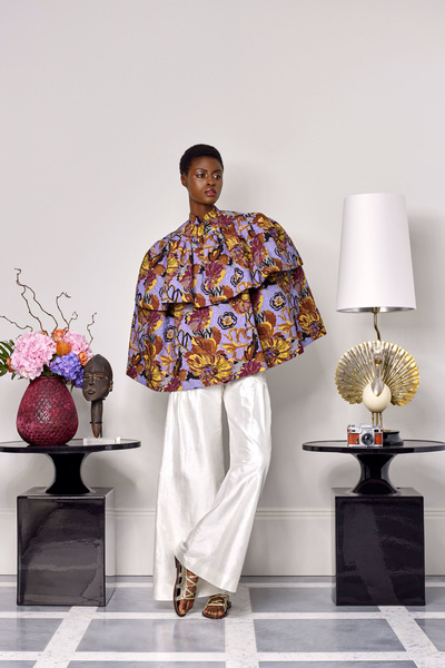 Duro Olowu Spring 2018 Ready-to-Wear - Look #27